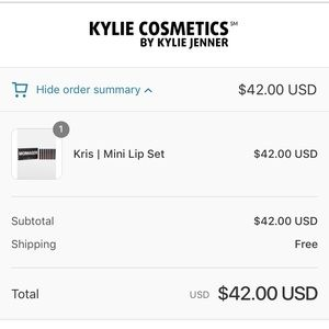 Kylie Cosmetics Makeup - Kylie Kris Jenner Too Blessed Velvet Mini